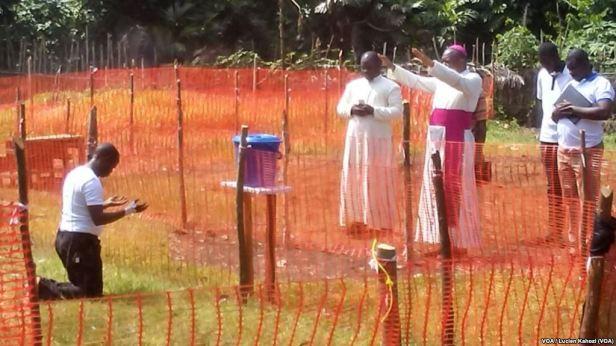 Mgr Ambongo - padre lucien - Ebola web