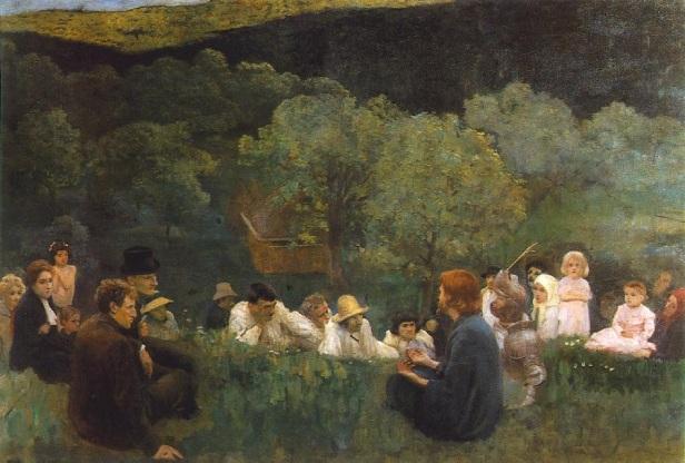 Ferenczy_Károly_-_Sermon_on_the_Mountain_1896