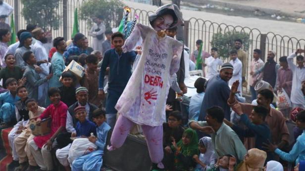 proteste asia bibi pakistan