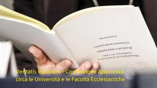 veritatis gaudium - costituzione apostolica circa le università e le facoltà ecclesiastiche