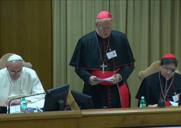 Il Cardinale Erdo parla al Sinodo