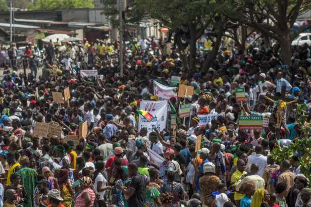 BENIN-GENERAL-ELECTIONS-OPPOSITION-RALLY