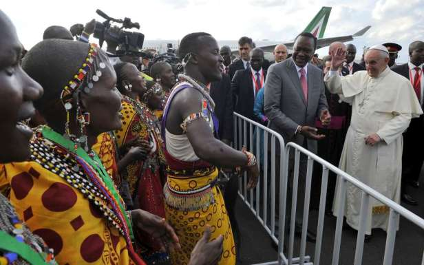 Pope in Kenya 2