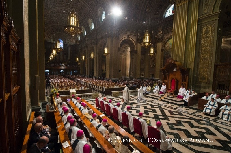 Holy Mass with the Bishops, Clergy and Religious of Pennsylvania 4
