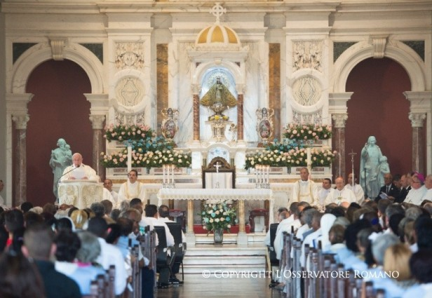 8.00 Santa Misa en Santiago de Cuba