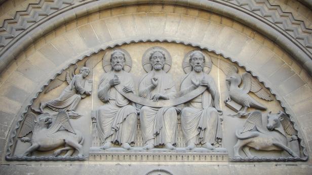 Trinité, Abbaye aux Dames, église abbatiale de la Sainte-Trinité, Caen (France)