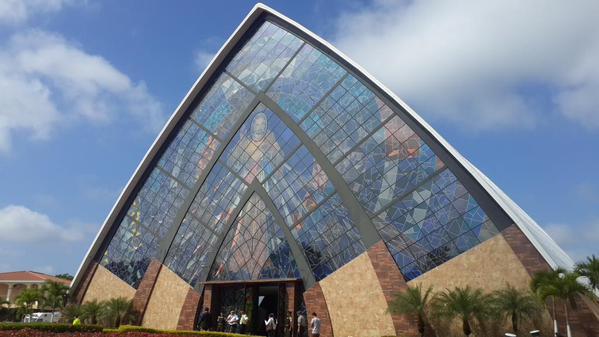 santuario della Divina Misericordia, a Guayaquil in Ecuador
