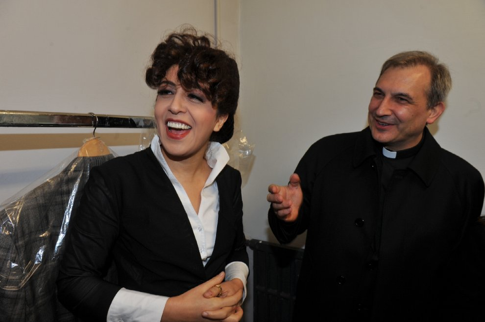 Monsignor Vallejo Balda e Francesca Chaouqui.