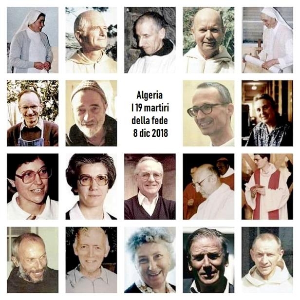 19 martiri dell'algeria