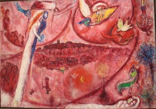 Chagall Cantique des cantiq 1960 Hpapier Nice 1