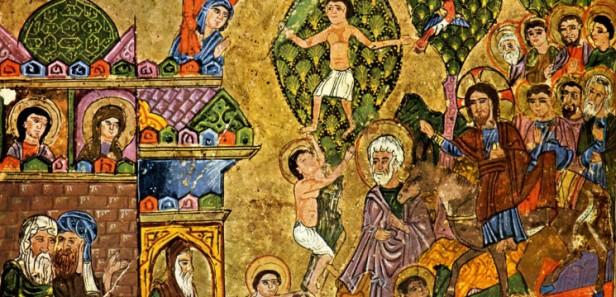 Entrée-du-Christ-à-Jérusalem-Lectionnaire-jacobite-syrien-Mossoul-Irak