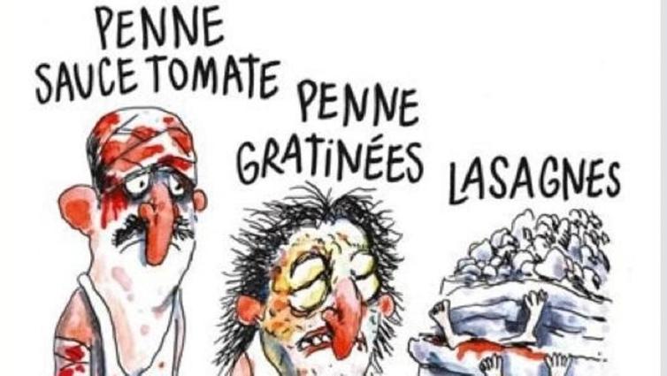 La vignetta di Charlie Hebdo