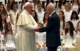 Papa Francesco Visita di cortesia al Presidente dello Stato di Israele 4