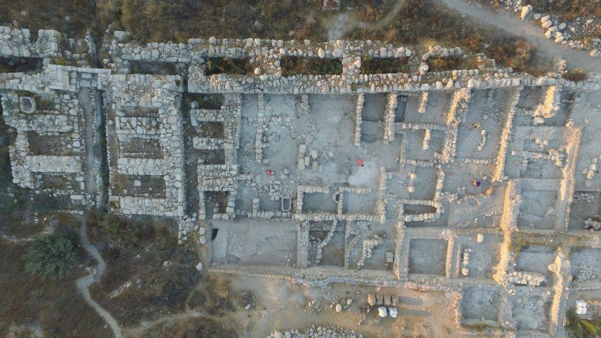 Scoperto un grande palazzo risalente ai tempi del re Salomone