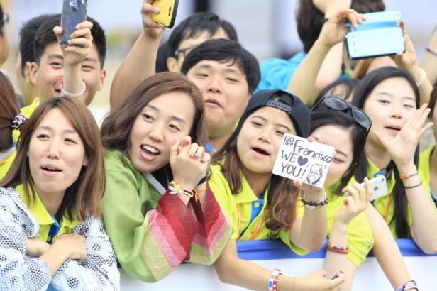 viaggio del papa in corea 21