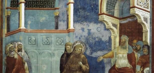 Giotto, San Francesco e il Sultano