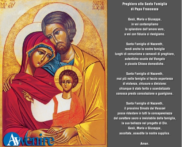 preghiera famiglia
