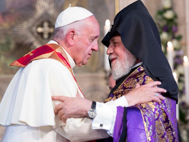Papa in Armenia